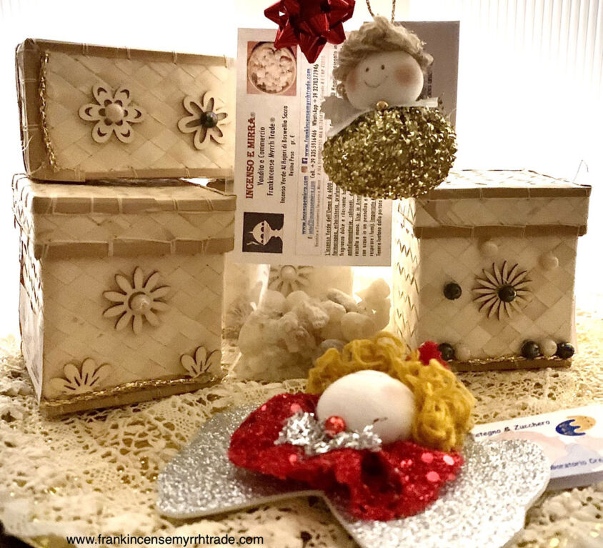 FRANKINCENSE CHRISTMAS GIFT FROM OMAN, INCENSE BOSWELLIA SACRA