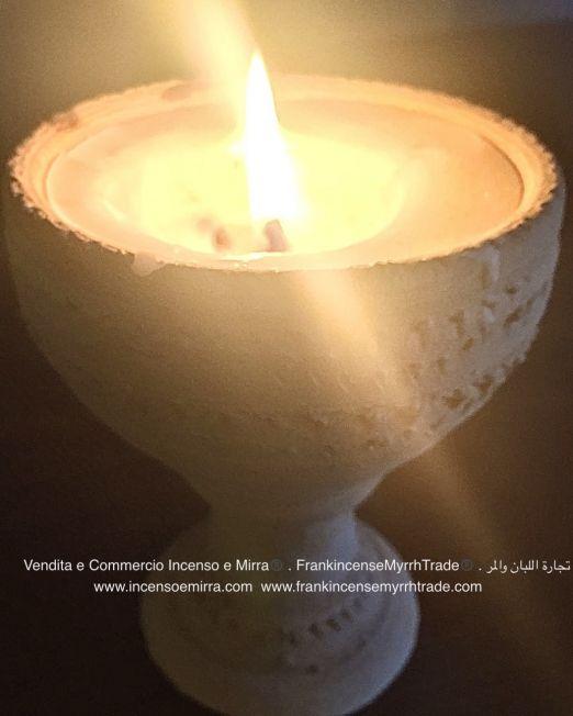 candles handmade with frankincense Oman and myrrh, Frankincense Myrrh trade