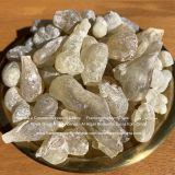 Royal Green Boswellia Sacra Frankincense in raw resins from Sultanate of Oman for sale by Frankincense Myrrh Trade company